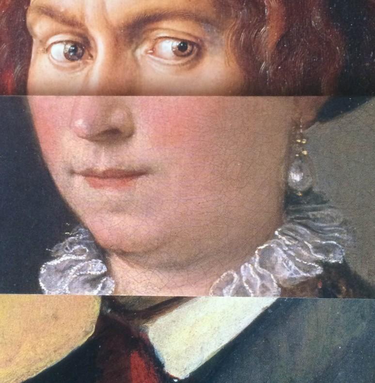 Oben Dürer, unten Macke!